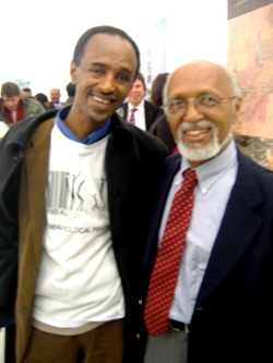 Dr. Naighi With Memberof Eritrean Civic Society In Germany