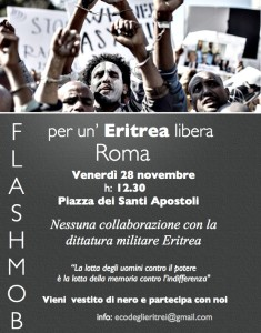 Flash Mob Eritrea Democratica